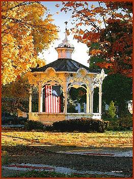 Bellville Bandstand by Dick Hollon