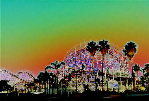 Belmont Park - San Diego California by John Toma