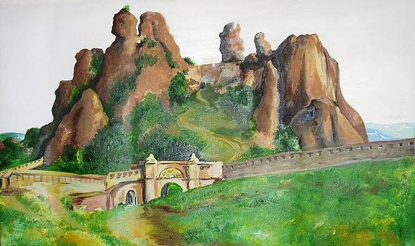 Belogradchik rocks by Sonya Ragyovska
