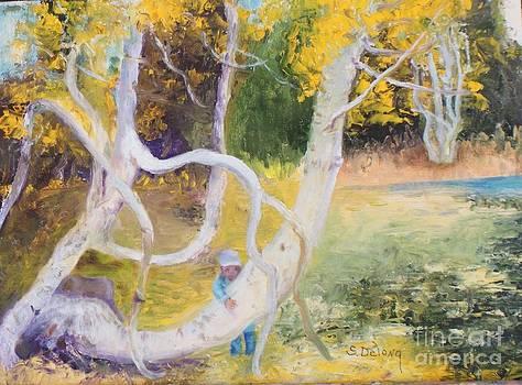 Ben and Lake Serene by Sandra Delong