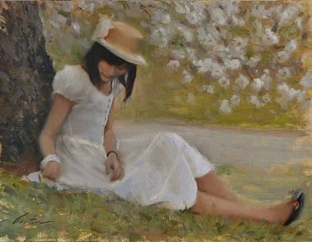 Beneath Sakura by Phil Couture