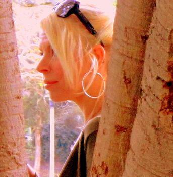 Benevolent blond by Nancy  Wood
