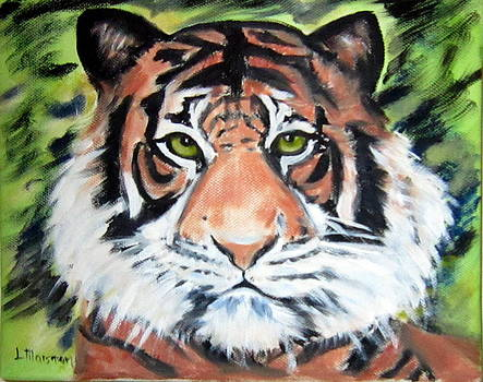Bengal Tiger by Lia  Marsman