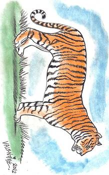 Bengal Tiger by Mike Valentine