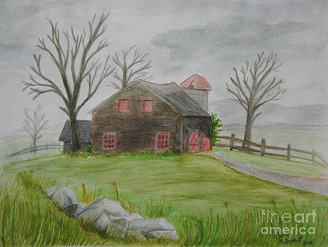 Berkshire Barn by Corrie McDermott