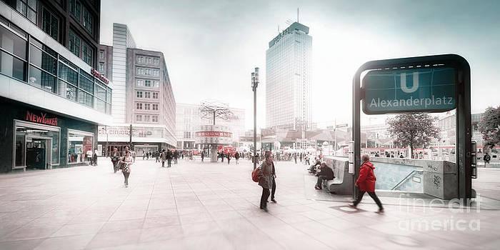 Berlin Alexander Square by Frank Waechter