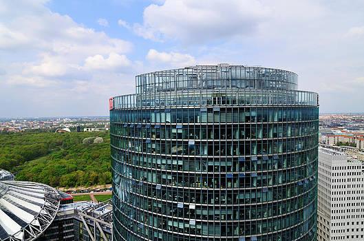 Berlin Bahn Tower Potsdamer Platz Square by Matthias Hauser