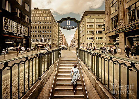 Berlin Urban Core by Frank Waechter