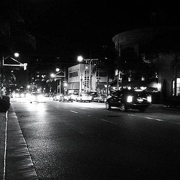 Beverly Hills At Night by Ric Spencer