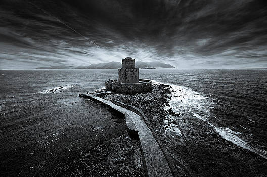 Beyond the sea there is a small prison by Stavros Argyropoulos