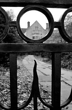 Beyondthe gate... by Rick Jack