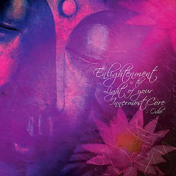 Bhuddha - Enlightenment by Arvind Gandhare