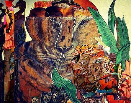 Big Cats Sunset by Sharon R Aldridge
