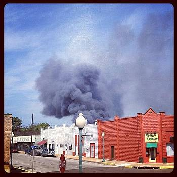 Big Fire In Hope! by Jeff Madlock