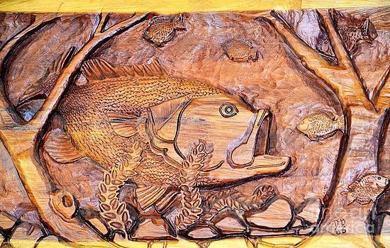 Maria Urso  - Big Mouth Bass Carving