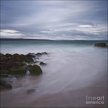 Big Sand Beach Gairloch Scotland by George Hodlin