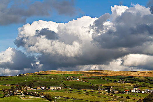 Big Skies Over Pecket Well by Sandra Pledger
