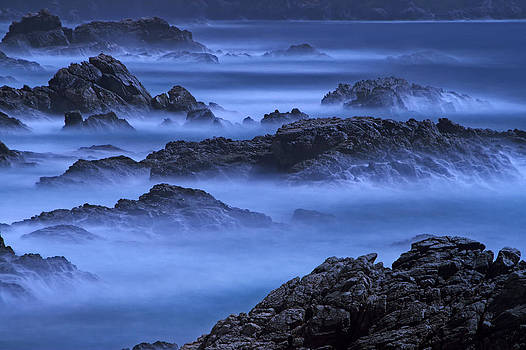 Big Sur mist by William Freebilly photography