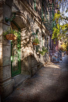 Mike Savad - Bike - NY - Greenwich Village - The green district