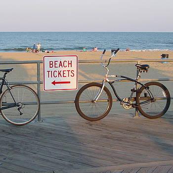 Bike on the Boards by Mark Otten