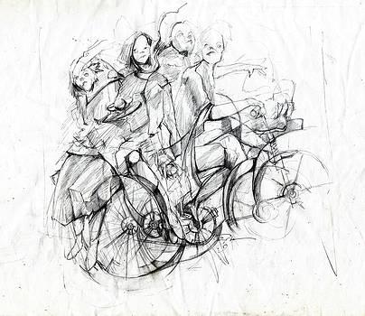 Bike Voyage by Ertan Aktas