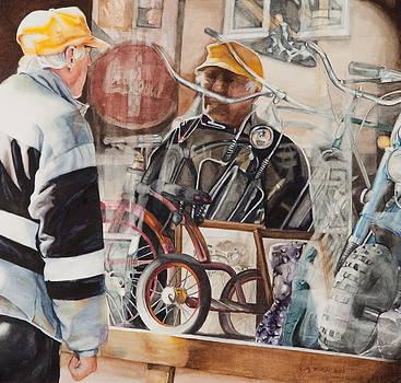 Biker Dude by Kathy Michels