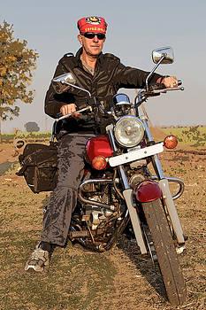 Kantilal Patel - Biker in India