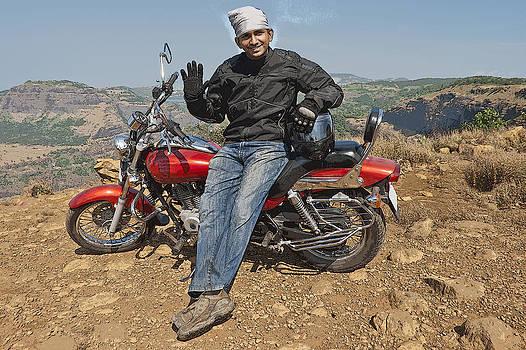 Kantilal Patel - Biker Waves