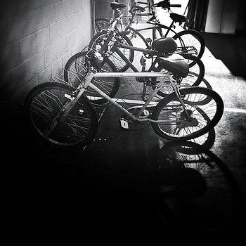 Bikes On The Lot by Ric Spencer