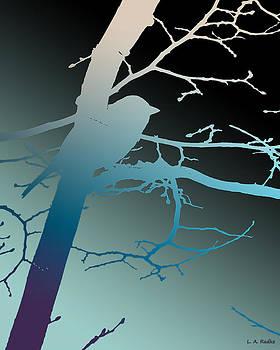 Bird at Twilight by Lauren Radke
