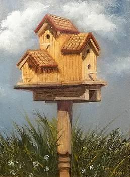 Bird House Condo by Terri Meyer