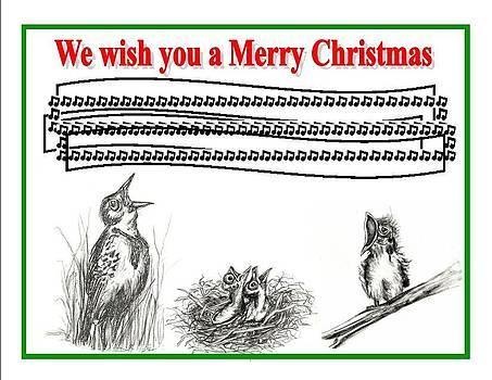 Bird song for Christmas by Carol Allen Anfinsen