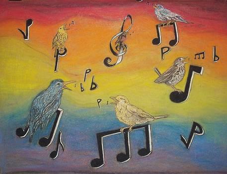 Bird vocalization by John Fierro
