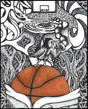 Birdland Basketball by Steve Weber