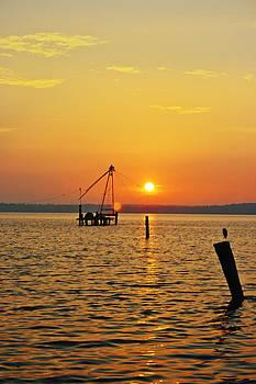 Kantilal Patel - Birds Eye View Kerala Sunrise