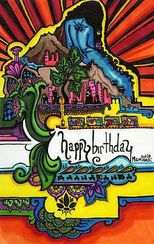 49 - Birthday Card by Maggie Nancarrow