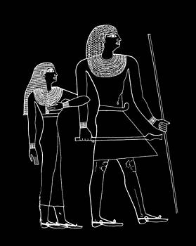 James Hill - Black and White Egyptian Image