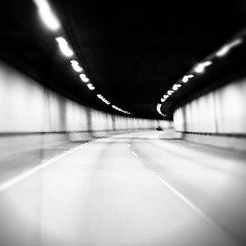 Black and White Tunnel by Chris Fabregas