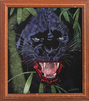 Black Leopard II by Diane Bombshelter