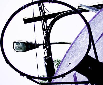 Black lines purple board by Pierre-Marc Cardinal
