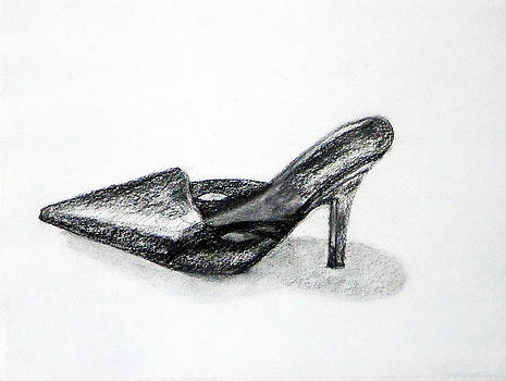Black Shoe by Linda Pope