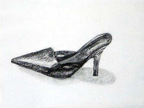 Black Shoe by Linda Pope