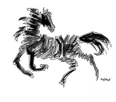 Black Stallion 2 by Mimo Krouzian