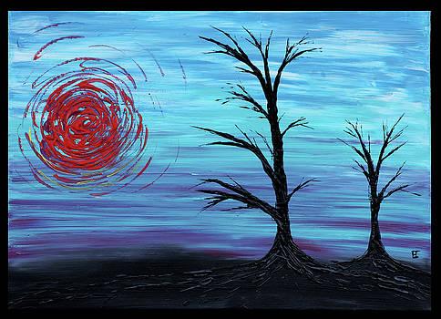 Black Trees by Erik Tanghe