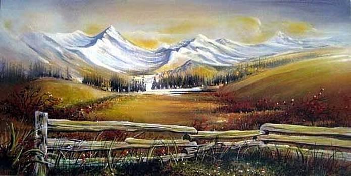 Blackcomb Whistler  BC by Dumitru Barliga