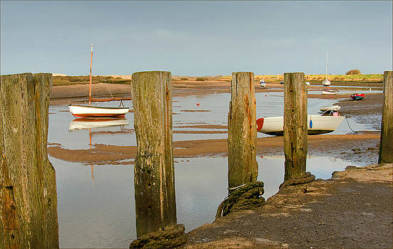 Blakeney Staithe by Barry Hayton