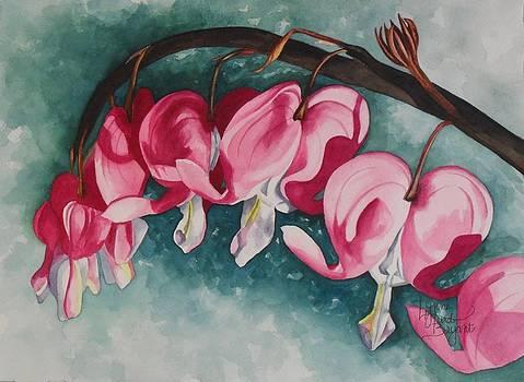 Bleeding Hearts by Lynne Hurd Bryant