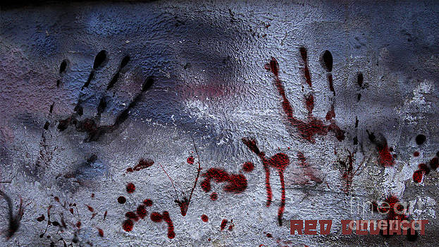 Bloody hands by Red Deviant