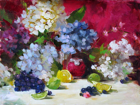 Chris  Saper - Blossoms and Mate