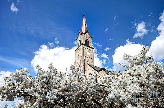 Blossoms Beneath the Spire by Bdsmalley